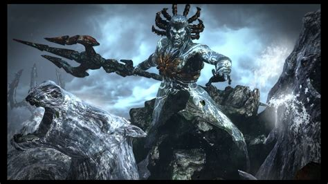 Poseidon God Of War Iii Remasterizado God Of Waaaaaar