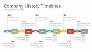 Company History Timelines Diagrams Powerpoint Presentation