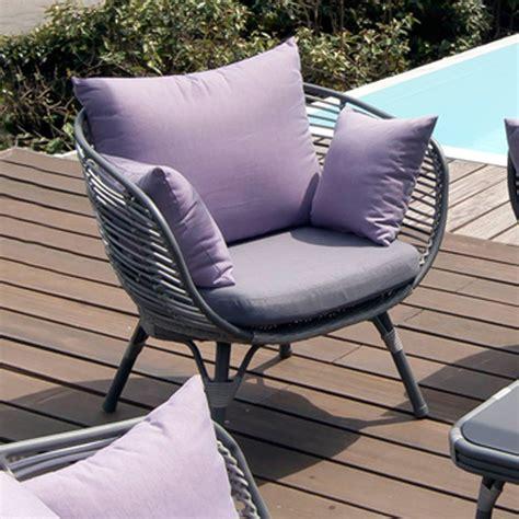 canape jardin aluminium salon de jardin arguin aluminium résine table basse 2