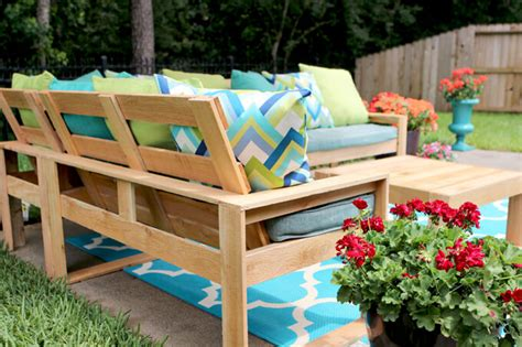 diy outdoor sectional for 100 gray house studio