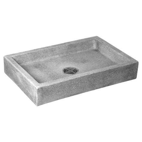 Fiat Msb 2424 by Mop Sinks Made Of Durable Terrazzo And Molded Fiat