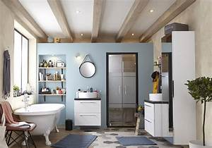Abat Jour Salle De Bain : revetement sol salle de bain saint maclou ~ Melissatoandfro.com Idées de Décoration