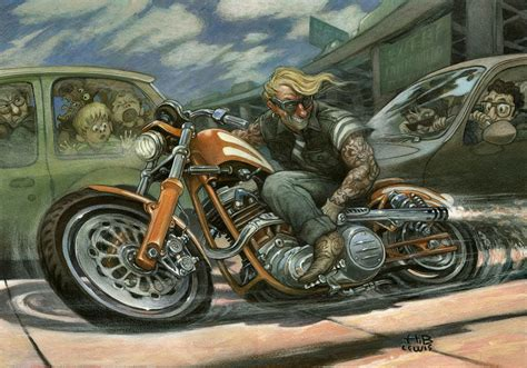 Fine Art Master And Official Harley