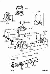 1994 Toyota Land Cruiser Gasket Kit  Power Steering Pump