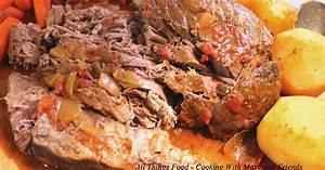 Cooking With Mary and FriendsSlow Cooker Garlicky Eye of