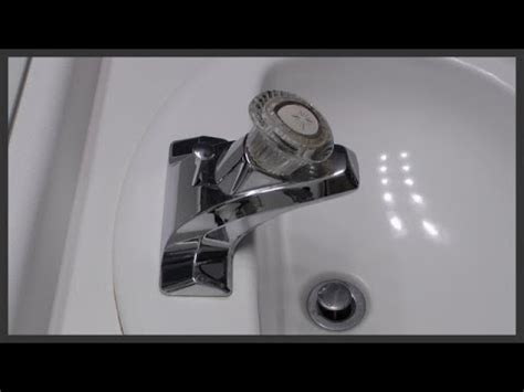 bathroom faucet cartridge replacement youtube