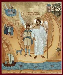 St Raphael The Archangel Orthodox Icon Mounted Orthodox