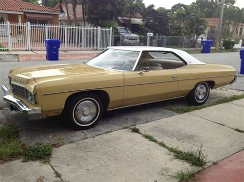 1973 Chevrolet Sport by Purchase Used 1973 Impala Caprice Sport Coupe In Miami