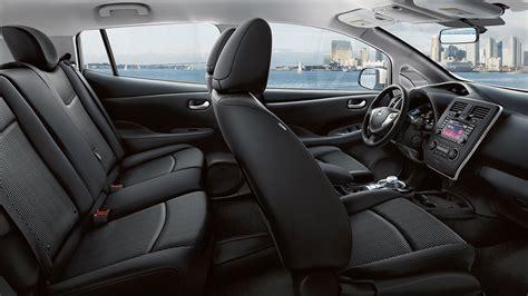 nissan leaf 2017 interior volt vs leaf which hybrid car is best nissan or