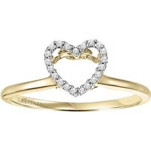 keepsake wedding rings keepsake charming accent engagement ring enhancer in 10kt yellow gold by keepsake