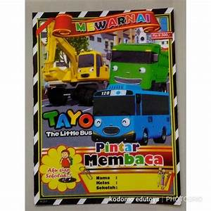 100  Mewarnai Tayo Bus