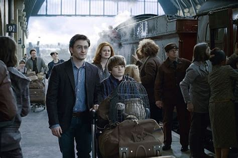 J.k. Rowling Says Today Is Harry Potter's Son's First Day