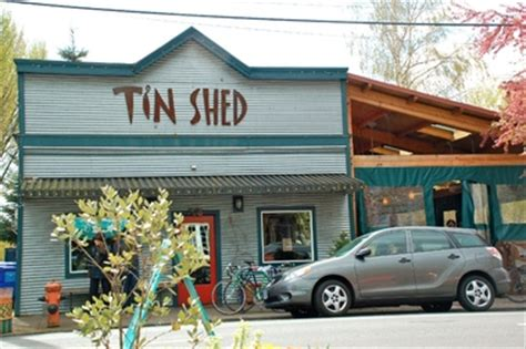 Tin Shed Garden Cafe Portland Oregon by Tin Shed Garden Cafe Portland Or
