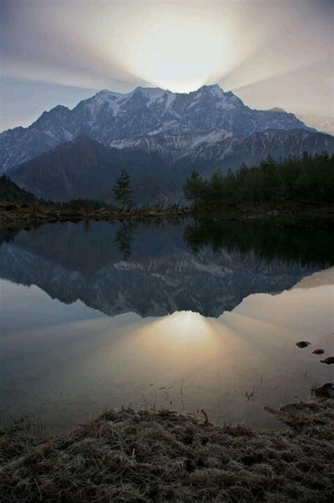Nilgiri Mountains in Nepal