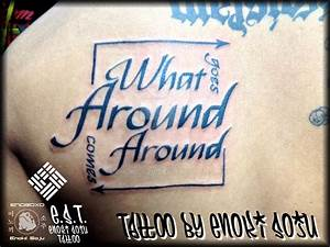 What goes around comes around Tattoo By Enoki by enokisoju ...