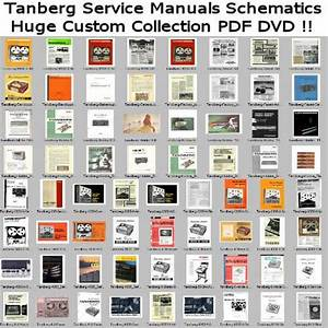 Tanberg Service Manuals Schematics  Custom Pdf Dvd