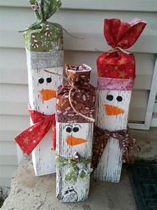 Gartendeko aus Holz zu Weihnachten selber machen