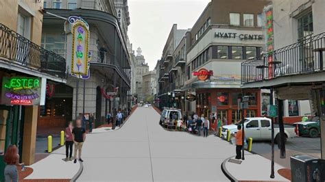 New Orleans by New Orleans Proposes Removing Vehicular Traffic On Bourbon