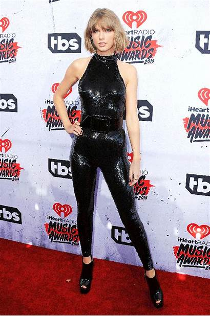 Swift Taylor Carpet Iheartradio Awards Jumpsuit Catsuit