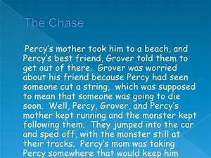 Percy Jackson And The Lightning Thief Book Report