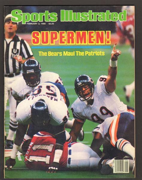 Sports Illustrated Magazine February 3 1986 Supermen ...