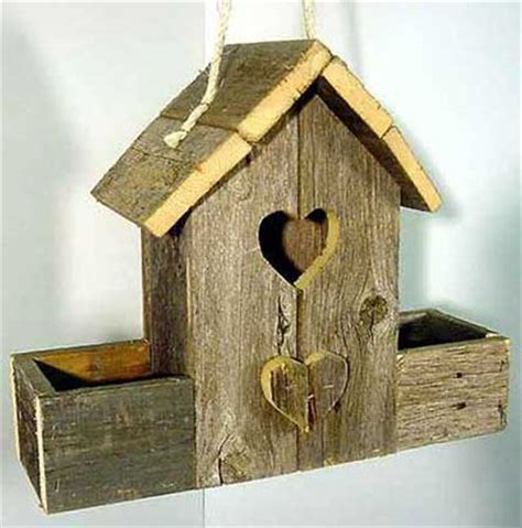 ideas  rustic birdhouses  pinterest