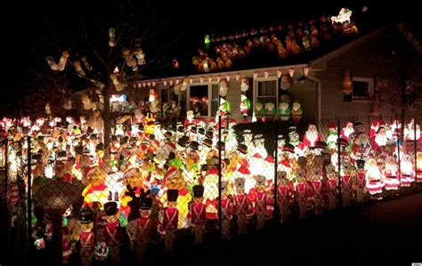 santa army takes  yard   extreme christmas