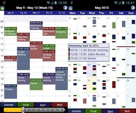 calendar apps for android top 5 calendar apps for android