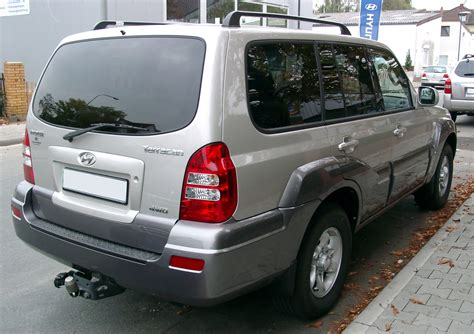 Filehyundai Terracan Rear 20071002 Wikimedia Commons