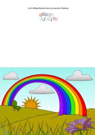 rainbow alphabet display letters