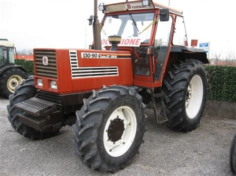 Trattore Agricolo Fiat 130-90 Dt