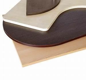 Tischplatte 120x80 Weiß : tischplatten rund zu unschlagbaren preisen ~ Markanthonyermac.com Haus und Dekorationen