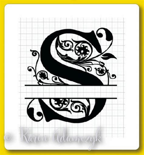 split regal monograms  svg  eps formats  instructions pinned  pinetsycom
