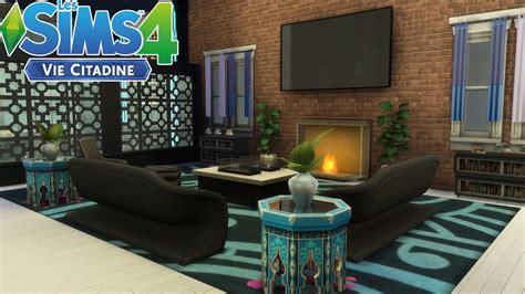 les sims  appartement terrasse sans cc construction
