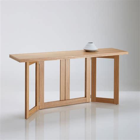meuble bureau fermé avec tablette rabattable table console personnes dimensions de la table console
