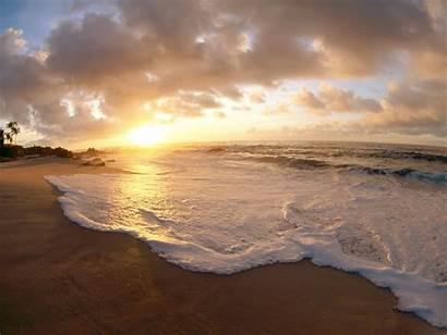 Desktop Wallpapers Romantic Beach Scenic Sunset Dawn