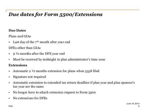 form 5500 update 06