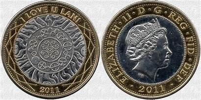 Coin Pound Coins Fakes Fake Obverse Commerce