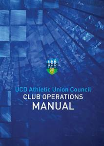 Ucd Auc Club Operations Manual By Advantage Point