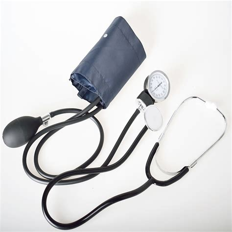 Manual Blood Pressure meter Stethoscope Sphygmomanometer