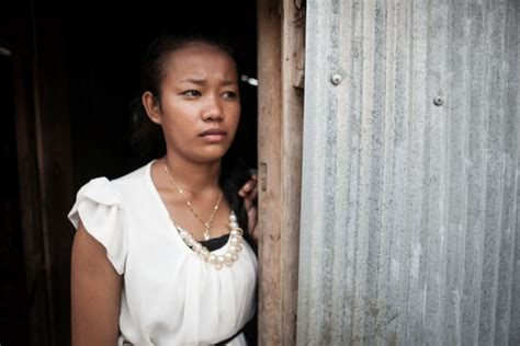Cambodian woman who witness mother after harvester ...