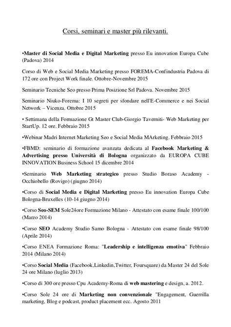 cora si e social corsi seminari e master digital marketing michele zecchini