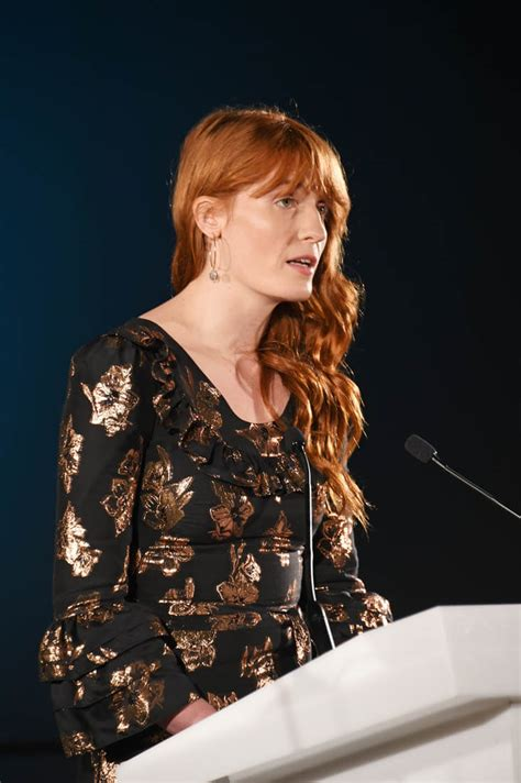 Florence Welch's muted metal|Lainey Gossip Lifestyle