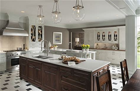 embassy row craftsman style cabinets wood mode