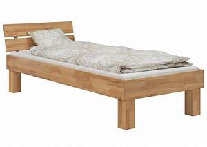 Erst Holz : einzelbett buche 100x200 hohes massivholzbett seniorenbett ~ A.2002-acura-tl-radio.info Haus und Dekorationen