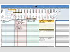 Calendar Template 2014 Excel sanjonmotel