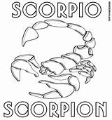 Zodiac Coloring Signs sketch template