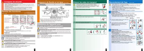 bosch maxx 7 lave linge automatique manuel d utilisation pages 6