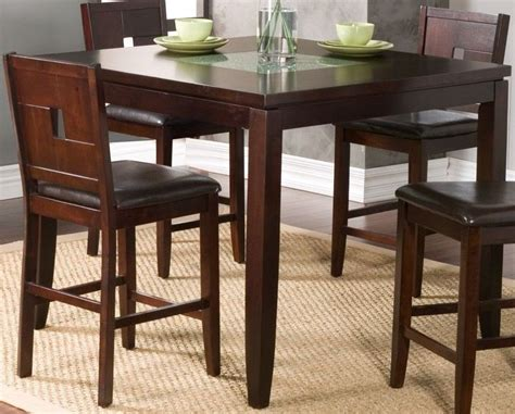 espresso counter height table lakeport espresso counter height pub table 552 01 alpine