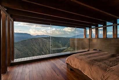 Bedroom Bed Nature Landscape Wallpapers Background Desktop